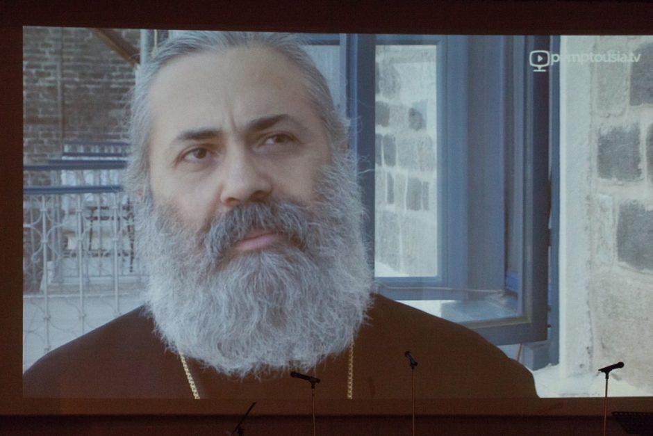 Συγκινητική εκδήλωση για τον Μητροπολίτη Χαλεπίου Παύλο στο Πολεμικό Μουσείο06