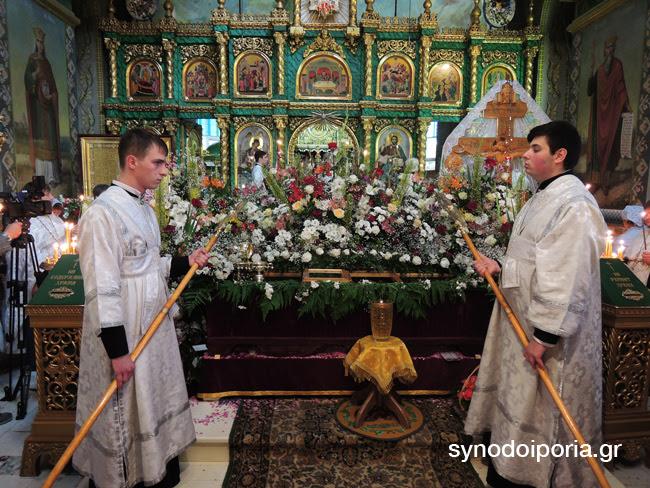 Ξεκίνησαν οι εορταστικές εκδηλώσεις για τον Άγιο Λουκά τον ιατρό στην Συμφερούπολη της Κριμαίας08