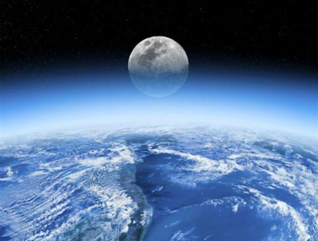 H Γη τροφοδοτεί με οξυγόνο την Σελήνη η οποία βέβαια δεν μπορεί να το αξιοποιήσει με τρόπο ανάλογο όπως ο πλανήτης μας
