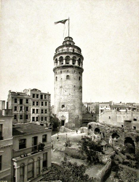 Ο φάρος του λιμανιού της Κωνσταντινούπολης (Από τη Βιβλιοθήκη ΑΠΘ)