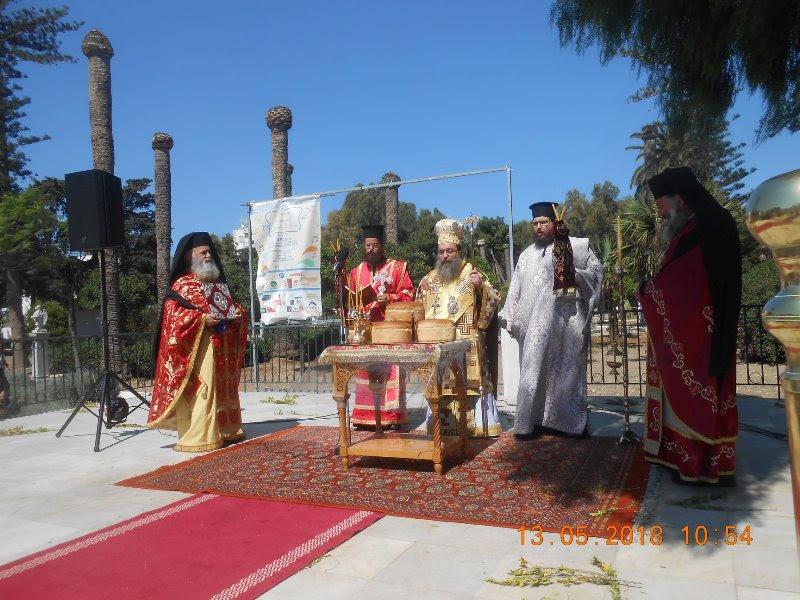 Η Χίος τίμησε τον Πρωτομάρτυρα της Άγιο Μεγαλομάρτυρα Ισίδωρο